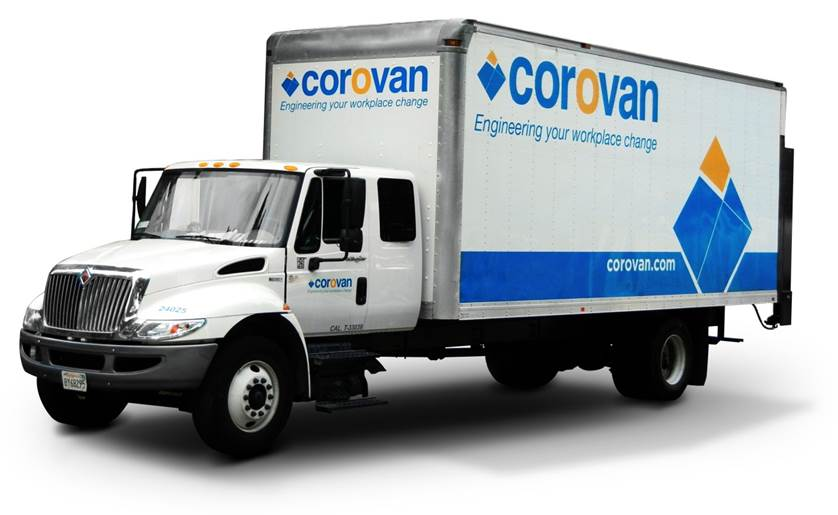 Corovan Commercial Business Moving Truck