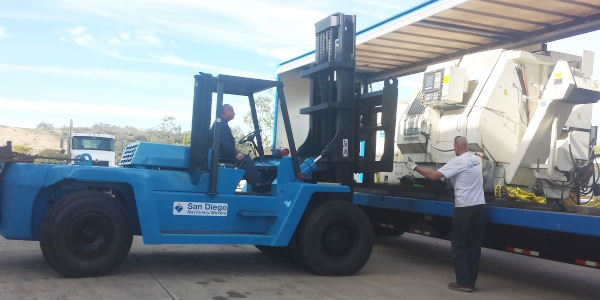Corovan San Diego Machinery Movers