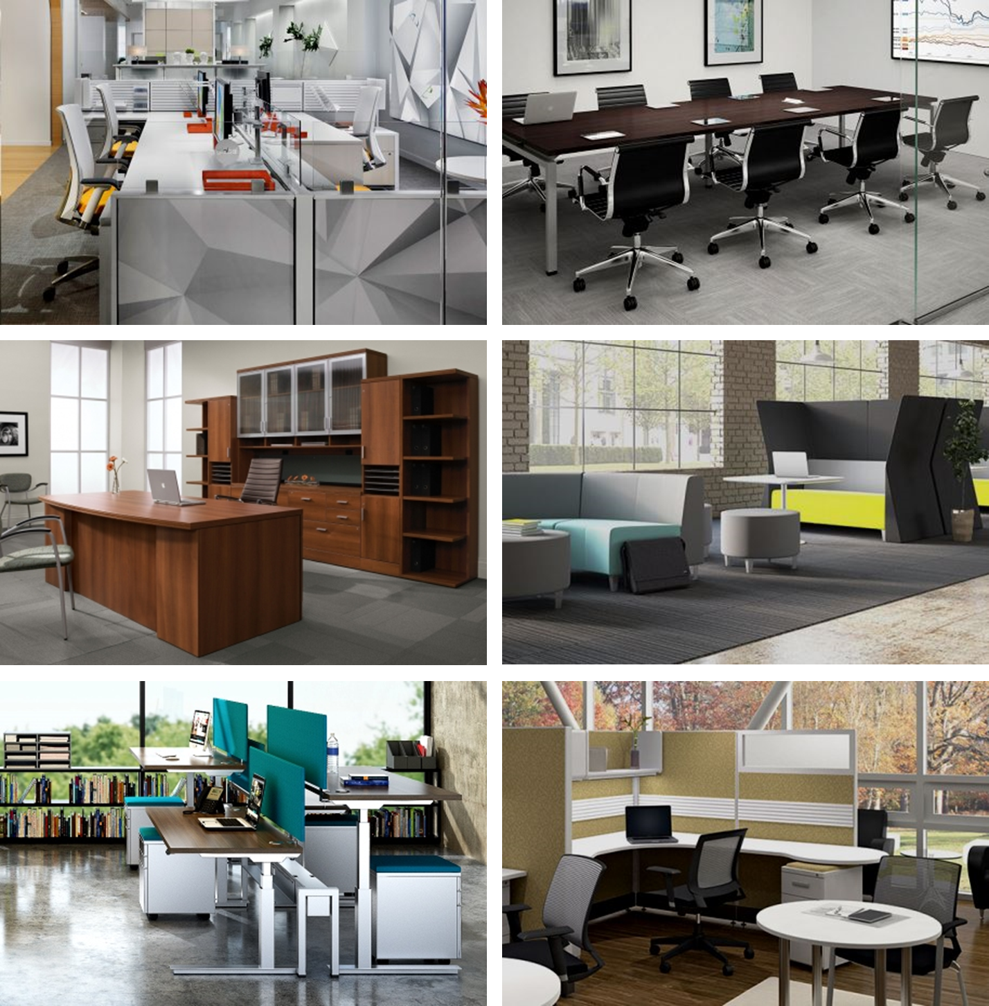 Corovan Office Furniture Selection